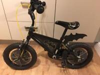 Boys Batman bike and helmet