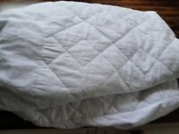 john lewis single fitted mattress protector