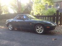 1996 mazda mx5 1.6 monaco mk1 only done 74300 miles with history cam belt changed 2 keys