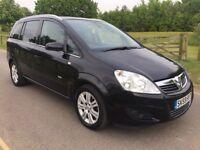 2009 Vauxhall Zafira 1.6 Design 7 seater mpv