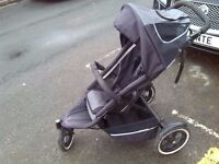 Phil and Teds sport pushchair with raincover