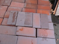 Clay Vintage style floor tiles (Delivery possible)