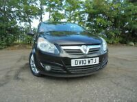 010 VAUXHALL CORSA SXI 1.4,3 DOOR,MOT JULY 021,2 OWNERS FROM NEW,PART-HISTORY,LOVELY EXAMPLE