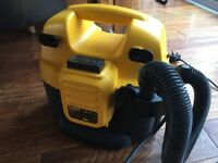 Dewalt DC500 Cordless and mains wet and dry hoover
