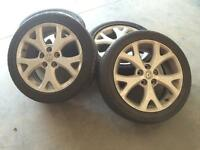 Mazda Rims and Tires 205/50/R17