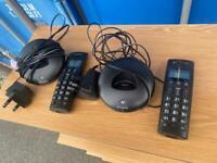BT GRAPHITE DIGITAL CORDLESS PHONES x 2