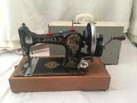 JONES 1914 singer style sewing machine