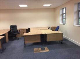 5 Office Desks - All 5 for £250
