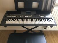 For sale yamaha psrs670 with stand and stool. 6 months old.