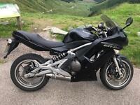 Kawasaki ER6f Motorbike