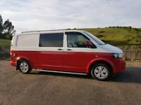 Vw T5 4 motion campervan/day van