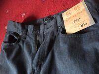F&F grey mens jeans, straight (30L/30W)