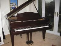Bechstein Model M (1988) grand piano in beautiful condition. This piano has a wonderful tone.