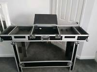 "CITRONIC 19"" DJ FLIGHT CASE/STAND"