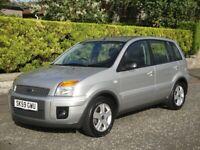 2009 FORD FUSION ZETEC 1.4 TDCI DIESEL - ONLY 30,099 MILES