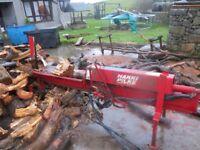 Hakki Pilke firewood processor