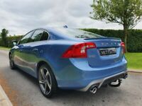 2014 Volvo S60 D4 [181] R DESIGN Lux Nav 4dr Auto, TOP SPEC, FULL S/H, ELECTRIC MEMORY SEATS