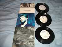 GEORGE MICHEAL SINGLES X 3,EX CONDITION