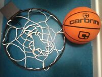 WALL MOUNTED BASKETBALL SET