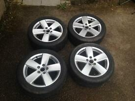 VW Passat Alloy Wheels