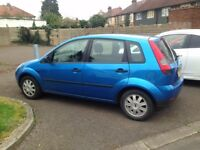 2005 FORD FIESTA 1.4 AUTO 52K MILES NEW CAMBELT like corsa clio punto yaris jazz civic polo c3 fabia