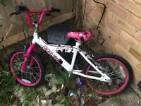 Child's bike not used brakes need adjusting but that's it need gone