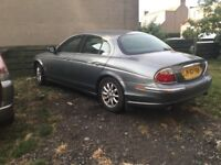 Jaguar s type good overall condition mot 12 months solid underneath