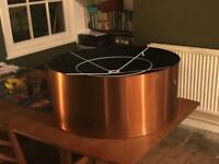 Brand new copper lampshade (x3 available)