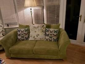 DFS LIME GREEN sofa/chair