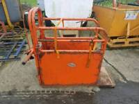 Ritchie calf dehorning vaccination crate crush farm livestock tractor