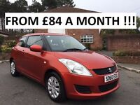 2010 SUZUKI SWIFT SZ2 1.2 ** FINANCE AVAILABLE ** LOW MILES ** FULL HISTORY ** ALL CARDS ACCEPTED