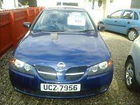 2003 Nissan Almera 10 months mot only £595 call 07725289738