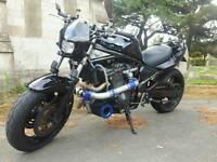 Suzuki bandit turbo custom 1 off streetfighter drag toy