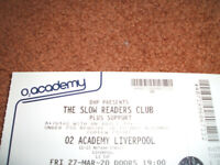 The Slow Readers Club - Liverpool O2 - 27 Sept '21