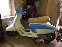 2012 Lambretta LN, excellent condition with very low milage, stored in a garage.
