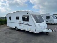 2008 Swift Charisma 555 . fixed bed caravan