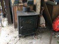 Second hand multi-fuel log burner for sale