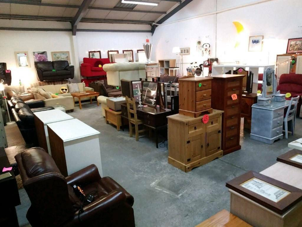 Mostly modern used furniture items