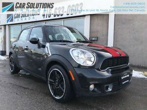 2012 MINI Cooper Countryman S ALL4 - LEATHER-SN ROOF