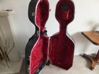 Hiscox Liteflite hard cello case