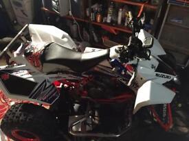 Suzuki ltr 450 fuel injector swap 4x4quad bike