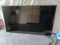 Tv is in immaculate condition 1 year old can comec with bracket