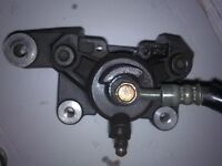 gsxr srad 600 750 rear caliper & master cylinder