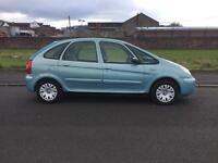 1 LADY OWNER 05 REG CITROEN PICASSO 1.6 1 YEARS MOT READY TO GO IBROX