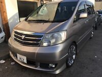 Personally imported MPV from Japan