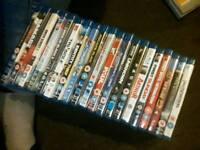 20 Blu-ray Dvds