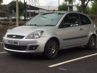 FORD FIESTA 1.2 ZETEC*2006 (55 REG)*£995*VERY LOW MILES*LONG MOT*SILVER*PX WELCOME*DELIVERY*