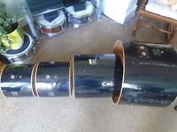 Pearl Drum Shells only 12 13 16 and 22 bass