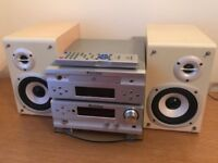 Stereo system—excellent condition.