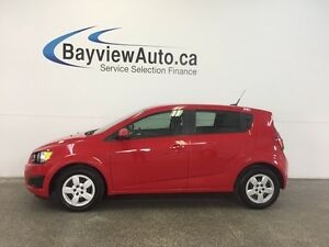 2014 Chevrolet SONIC LS- AUTO! 1.8L! A/C! ON STAR! LOW KM'S!